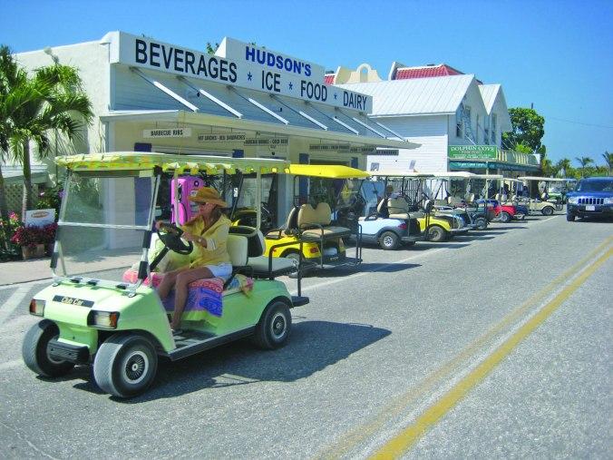 golf carting in Boca Grande