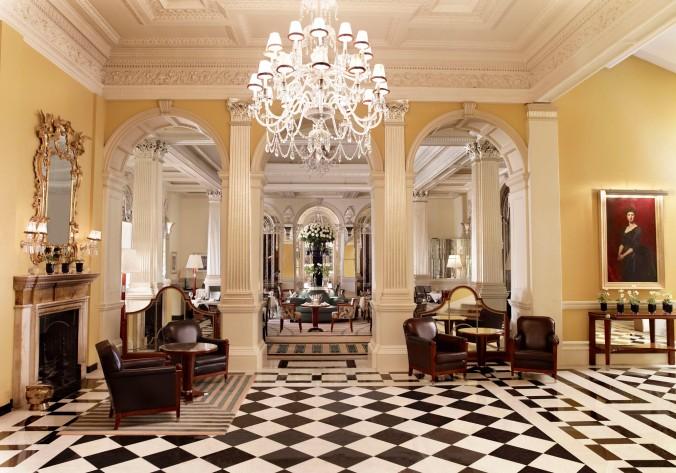 Claridge's lobby