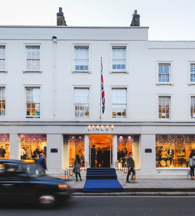 LINLEY Belgravia Flagship Store
